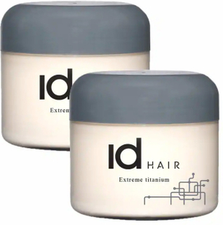 2-Pack Id Hair Extreme Titanium 100ml