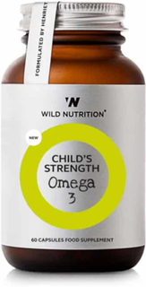 Wild Nutrition Child's Strenght Omega3, 60kps