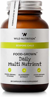 Wild Nutrition – Bespoke Child – Food-Grown Daily Multi Nutrient, 60kps
