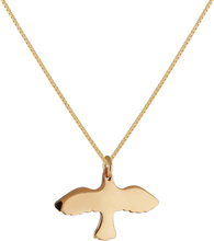 Emma Israelsson 18K Gold Small Dove Necklace
