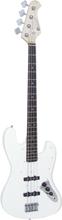 DiMavery Jazz Bass, White