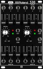 Roland System 500 Dual VCA 530