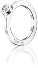 Efva Attling The Wedding Ring Vitguld 0,30 Ct