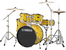 Yamaha Rydeen Standard drumset - stands and cymbals incl. - Mellow Yellow