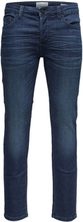 ONLY and SONS - Loom -Jeans - blå