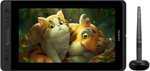 """HUION Kamvas Pro 13 Full HD 13.3"""" Ritplatta - Svart"""