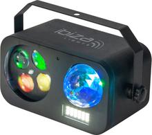 Ibiza Combined light effect astro-strobe-gobo 3-in-1