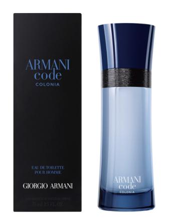 Armani Code Colonia Eau De Toilette 75 Ml