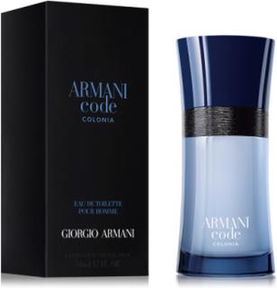 Armani Code Colonia Eau De Toilette 75 Ml Parfume Eau De Parfum Nude Giorgio Armani