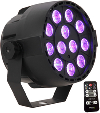 Ibiza RGB LED PAR lampa, uppladdningsbar
