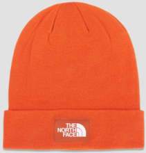 The North Face, DOCK WORKER RECYCLED BEANIE, Oranssi, Hatut till Unisex, One size