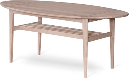 Flip soffbord vitoljad ek 90-140x69 cm