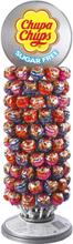 120 stk SUKKERFRIE Chupa Chups med Stativ - Kjærligheter