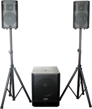 """Active 2.1 PA-system - 15""""/800W"""