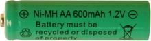 Reservbatteri AA till solcellslampor