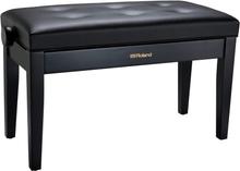 Piano Bench, duet size, satin black