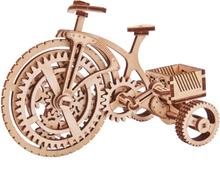 Wood Trick Eco-Wood-Art Byggmodell i trä cykel