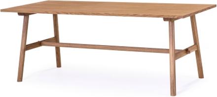 Bridge matbord oljad ek 200x90 cm