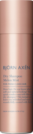 Björn Axén Dry Shampoo Melon Mist. Torrschampo. 150 ml.