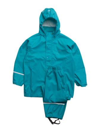 Basci Rainwear Set, Solid - Boozt