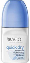 ACO Body Quick Dry Roll-on Antipersperant parfymerad 50ml