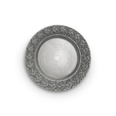 Mateus Spets Tallrik 25 cm, grå
