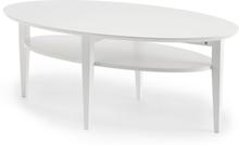 Tango soffbord vitbetsad ek 130x70 cm