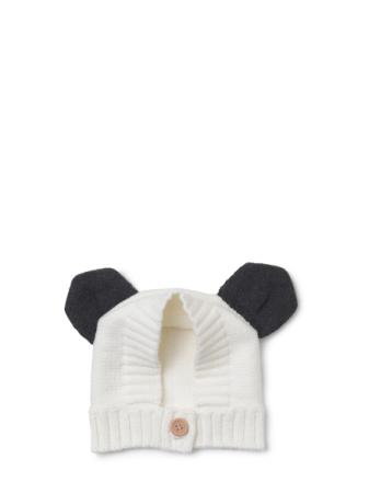Knit Baby Hat Panda
