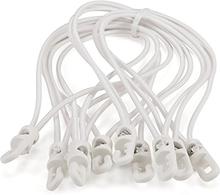 Spannfix gummiband 10 stk. vit