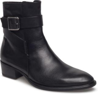 Meja Shoes Boots Ankle Boots Ankle Boots Flat Heel Svart VAGABOND