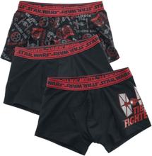 Star Wars - Tie Fighter -Sett med boksershortser - svart