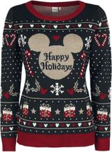 Mickey Mouse - Happy Holidays -Julegensere - flerfarget