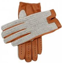 Dents Crochet Driving Gloves Cork
