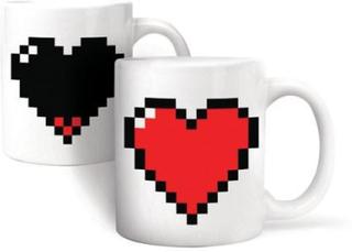 Krus - Pixel Heart Morph Mug