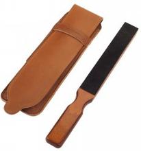 Thiers-Issard Sabatier Dubbelsidig Resestrigel i trä med läderfodral