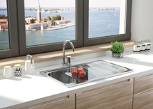 Rustfri stål køkkenvask Deante Maestro ZSM_0113