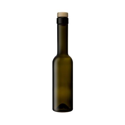 Flaska Träkork 0,2L Grön