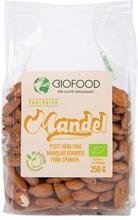 Ekologisk Mandel, 250 g