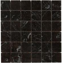 Klinker mosaik carrara black - 30 x 30 cm