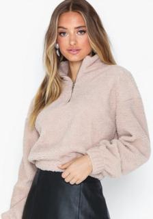 Gina Tricot Bella Teddy Sweater Sweatshirts