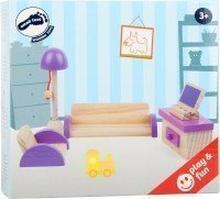 Puppenhausmöbel Wohnzimmer