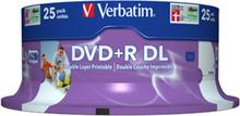 DVD+R 8x dual layer wide printable (25)
