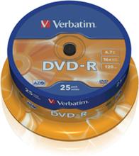 DVD-R 16x 4,7GB spindle (25)