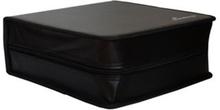 MediaRange Media storage wallet for 200 discs, Black
