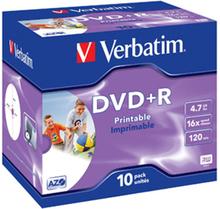 DVD+R 16x 4,7GB printable (10)