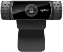 C922 Pro Stream Webcam, Black