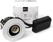 HiluX D10 Indbygningsspot - Uden lyskilde