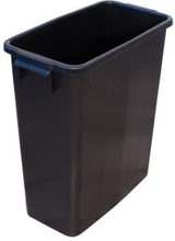 Beholder i sort plast, ikke fødevaregodkendt, 60 L