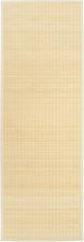 vidaXL Yogamatta i bambu 60x180 cm naturlig