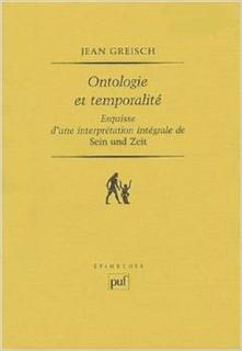 Ontologie et temporalité. Esquisse d'une interprétation intégrale de